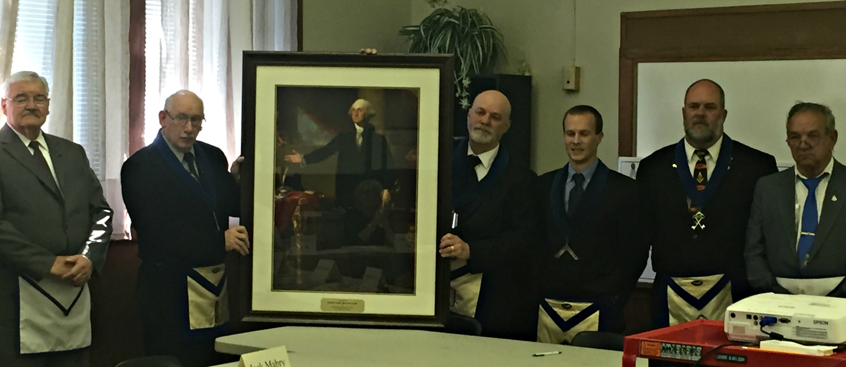 Boiling Springs Masonic Lodge Donate George Washington