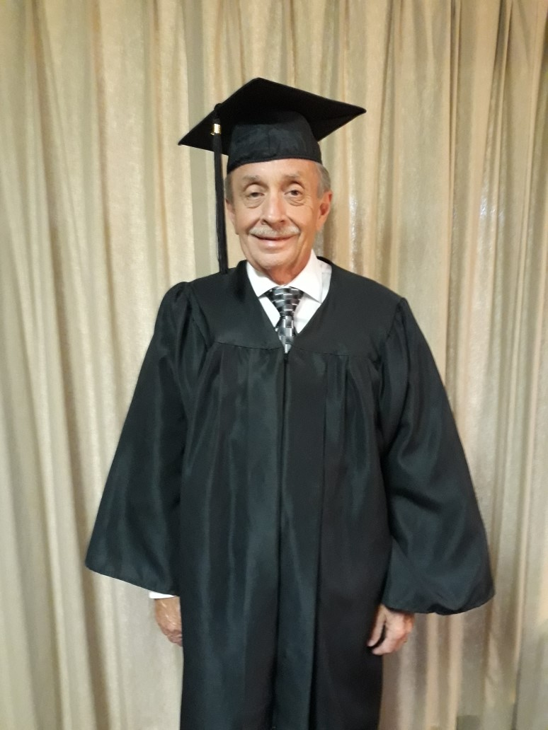 62 Year Old Man Earns His GED